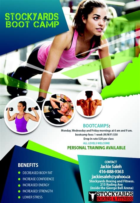 boot camp flyer stockyards boxing amp fitness