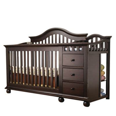 Sorelle Cape Cod Crib N Changer With Toddler Rail by Sorelle Cape Cod 4 In 1 Crib Changer In Espresso