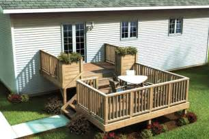 Split Level Designs by Two Level Deck On Pinterest Decks Deck Plans And Deck