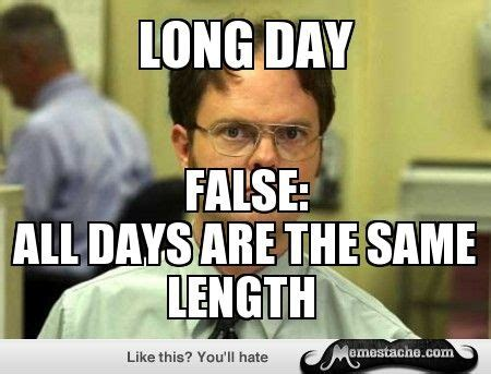 Long Day Memes - schrute facts meme dwight pinterest meme and memes