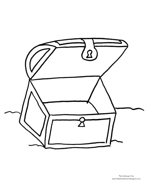 coloring page treasure chest coloring pages treasure chest coloring page jake
