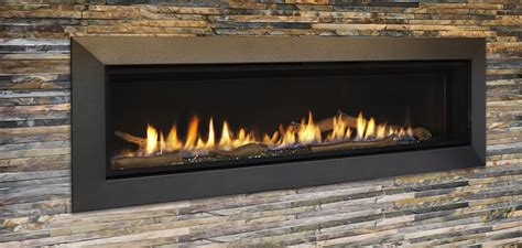 60 Gas Fireplace by Majestic Echelon Ii 60 Quot Linear Gas Fireplace Echel60in