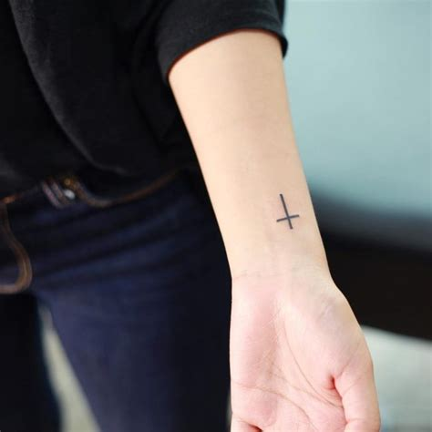 wrist cross tattoo tattoo collections