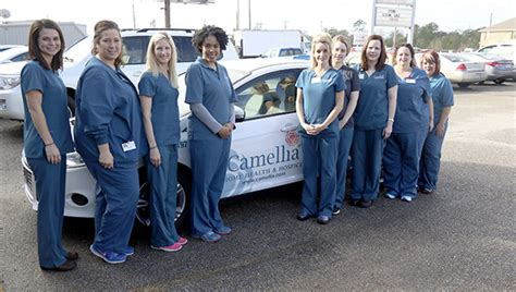 camellia home health and hospice receives two awards for