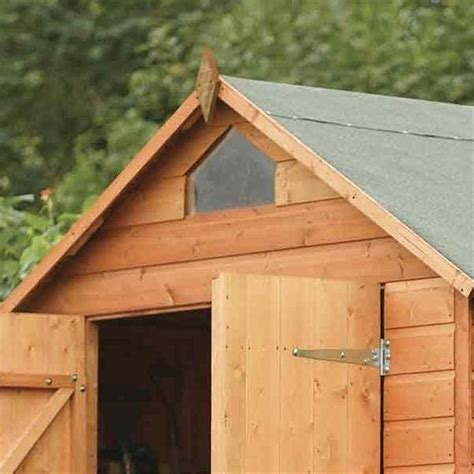 Tongue Groove Sheds by 8 X 6 Security Tongue And Groove Shed 12mm Tongue And