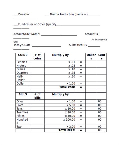 sle deposit slip template 8 free documents download