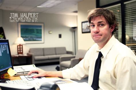 Jim From The Office by Jim Halpert Office Quotes Quotesgram