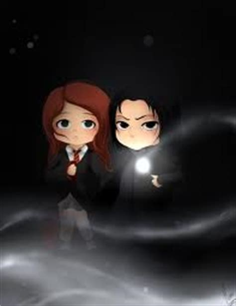 chibi lily and sev severus snape & lily evans photo