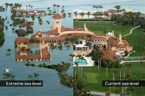 is trump at mar a lago trump axed a rule that would help protect coastal