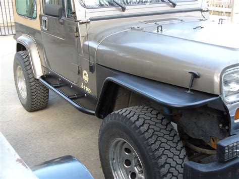 Jeep Wrangler Tj Fenders Jeep Tj Yj Fender Prebuilt Trail Customs