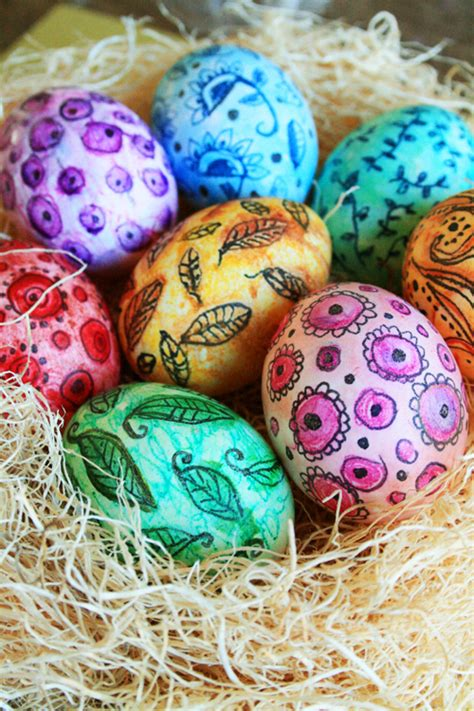 cool easter eggs alisaburke watercolor easter eggs