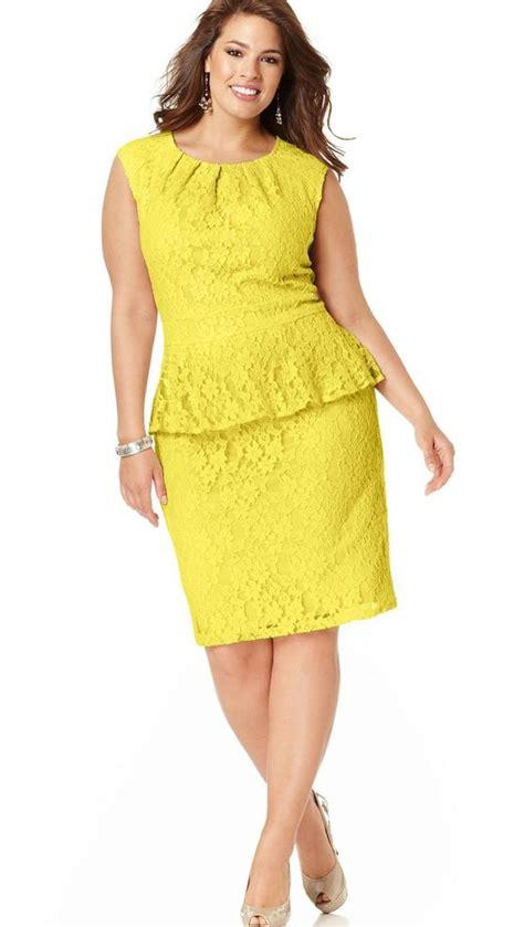 Plus size dresses macys   PlusLook.eu Collection