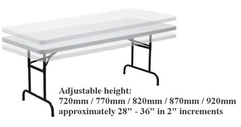 borough adjustable height dining table tables commercial 30 best lifetime adjustable tables images on pinterest