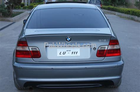 BMW 3 Series 318i 2004 for sale in Rawalpindi   PakWheels