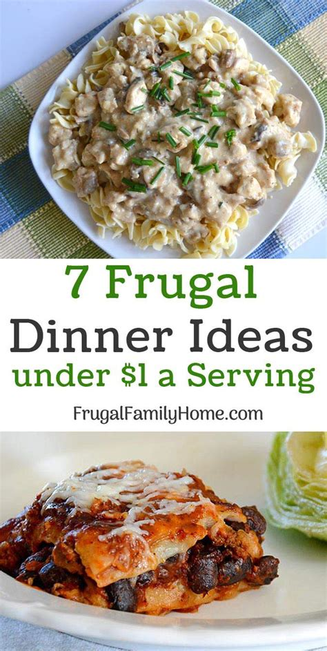 10 dinners to make at home the cookie rookie 174 frugal dinner ideas for a 1 a serving