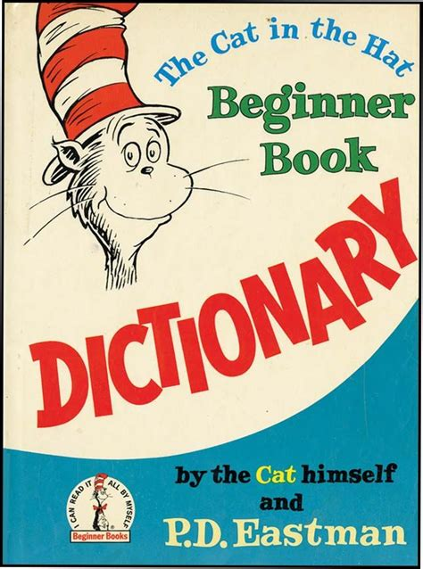 cat in the clouds books cat in the hat beginner book dictionary by dr seuss from