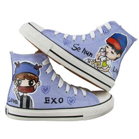 stephelvcwz korean sepatu chibi kpop murah