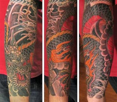 dragon tattoo half sleeve designs 60 japanese sleeve tattoos tattoofanblog