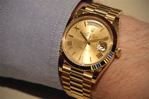 date on day rolex launches the day date 40