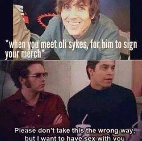 Bring Me The Horizon Meme - 185 best images about oliver scott sykes on pinterest