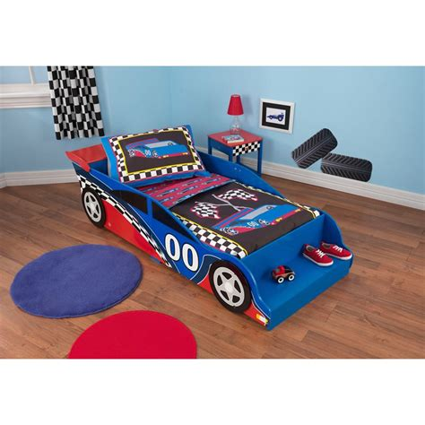 Racecar Toddler Bed by Racecar Toddler Bed