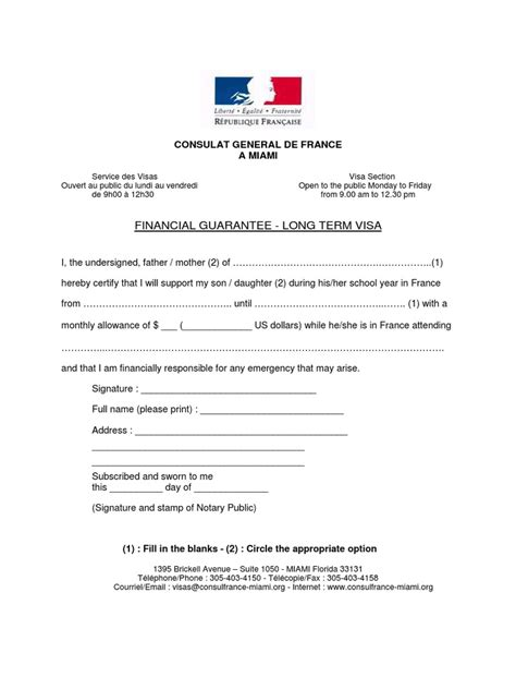 letter layout in france schengen visa financial guarantee sle letter format