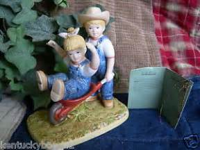 Home Interior Denim Days Home Interiors Homco Denim Days Quot The Wheelbarrow Quot Figurine