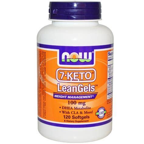 7 keto weight management now foods 7 keto leangels weight management 100 mg 120