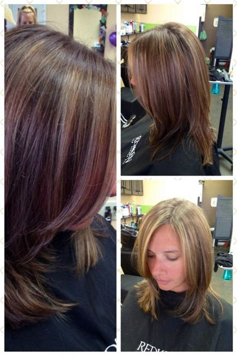long to medium layers on shoulder length hair with face framing fringe medium length long layered haircuts