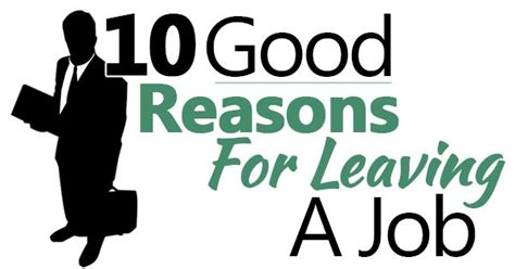 reason leave a job four reasons for leaving your fitted so