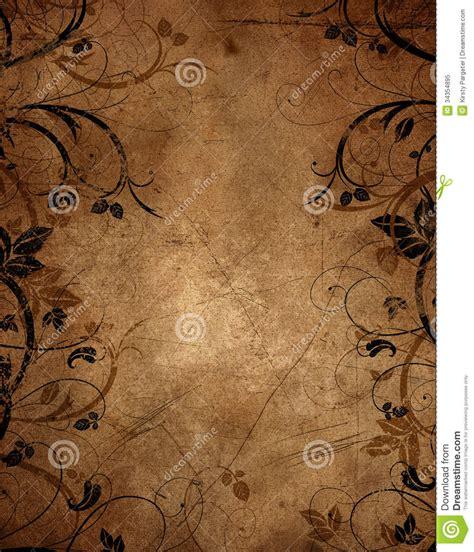 design background paper floral grunge background stock illustration image of