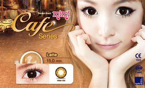 softlens geo princess mimi cafe 15mm