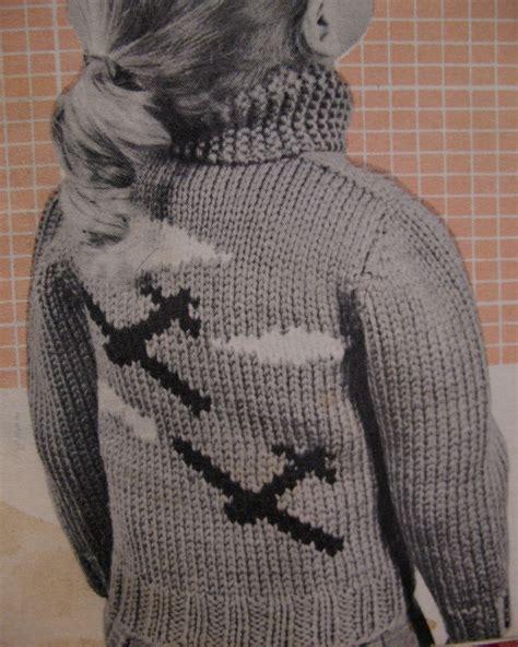 airplane knitting pattern vintage airplane aeroplane sweater knitting pattern