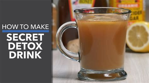 How To Use A Detox Drink For A Test by How To Make A Secret Detox Drink