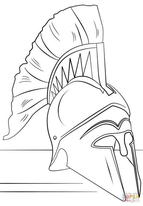 roman army coloring pages roman helmet coloring page png 824 215 1186 roma para