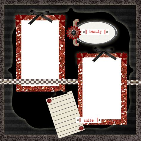 scrapbooking templates free printables free printable scrapbook layouts black and white
