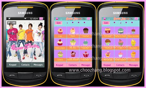 kpop themes for corby 2 corby 2 themes super junior v1 theme by corby cat corby
