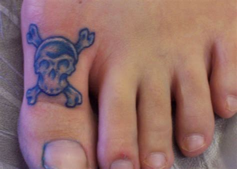 toe tattoo designs toe tattoos