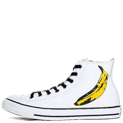 Converse Ct Andy Warhol converse andy warhol ct hi unisex white casual lace up