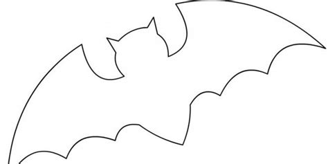 bat pattern for kindergarten bat template for halloween boatloads of bat stuff