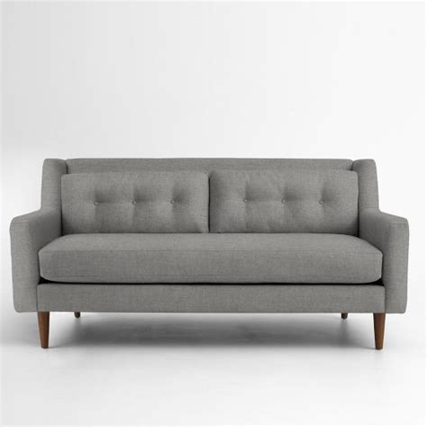 west elm livingston sofa crosby sofa west elm gathering home pinterest