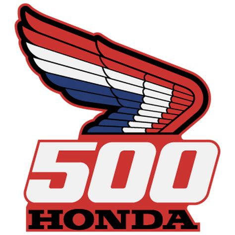 Sticker Honda Logo by Sticker Honda Logo 500