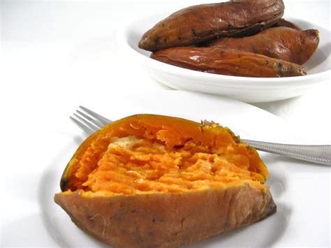 just delicious baked sweet potatoes recipe by nancy