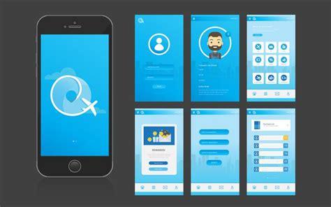 mobile app ui interface  gui   vectors