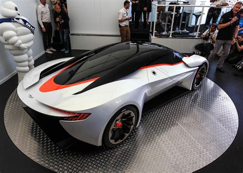 aston martin vision aston martin dp 100 vision grand turismo rear side above