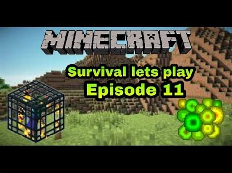 minecraft survival lets play episode 11 zombie mob