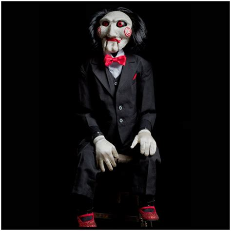 film horror jigsaw official licensed saw billy puppet prop pre order best