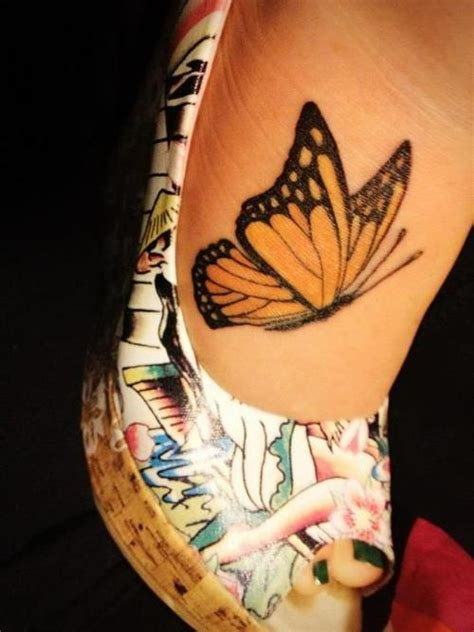 butterfly tattoo rib cage 36 monarch butterfly tattoos