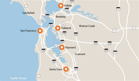 san francisco kaiser map locations kaiser permanente northern california