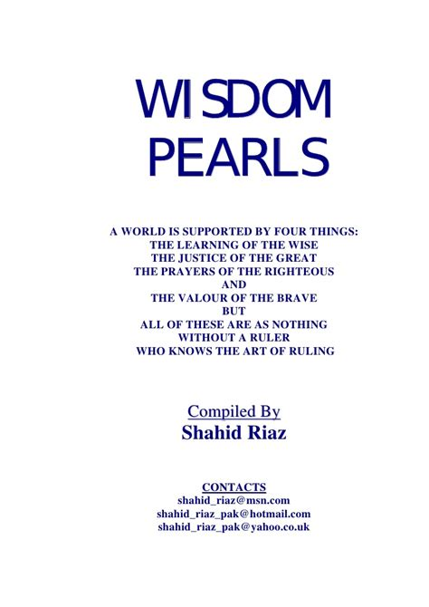 inspirational stories wisdom pearls inspiring stories